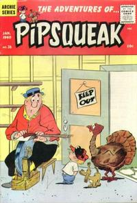 Cover Thumbnail for The Adventures of Pipsqueak (Archie, 1959 series) #36