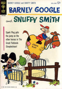 Cover Thumbnail for Barney Google and Snuffy Smith (Western, 1964 series) #1