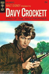 Cover Thumbnail for Walt Disney Presents Davy Crockett King of the Wild Frontier (Western, 1969 series) #[nn]