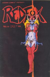Cover Thumbnail for Redfox (Harrier, 1986 series) #10