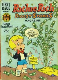 Cover Thumbnail for Richie Rich Digest Stories (Harvey, 1977 series) #1