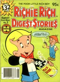 Cover Thumbnail for Richie Rich Digest Stories (Harvey, 1977 series) #5
