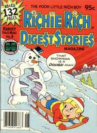 Cover Thumbnail for Richie Rich Digest Stories (Harvey, 1977 series) #6
