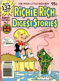 Cover Thumbnail for Richie Rich Digest Stories (Harvey, 1977 series) #7