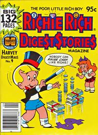 Cover Thumbnail for Richie Rich Digest Stories (Harvey, 1977 series) #9