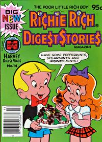 Cover Thumbnail for Richie Rich Digest Stories (Harvey, 1977 series) #14