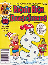 Cover Thumbnail for Richie Rich Digest Stories (Harvey, 1977 series) #15
