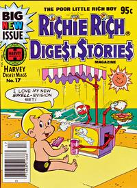 Cover Thumbnail for Richie Rich Digest Stories (Harvey, 1977 series) #17