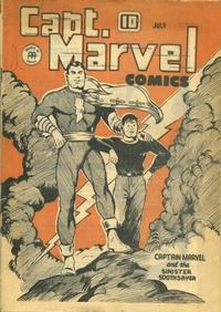 Cover Thumbnail for Captain Marvel Comics (Anglo-American Publishing Company Limited, 1942 series) #v2#7