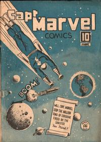 Cover Thumbnail for Captain Marvel Comics (Anglo-American Publishing Company Limited, 1942 series) #v3#6