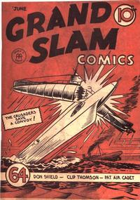 Cover Thumbnail for Grand Slam Comics (Anglo-American Publishing Company Limited, 1941 series) #v1#7 [7]