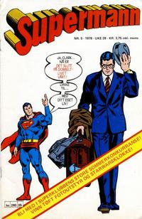 Cover Thumbnail for Supermann (Semic, 1977 series) #5/1978