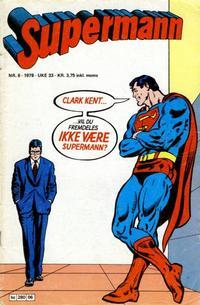 Cover Thumbnail for Supermann (Semic, 1977 series) #6/1978