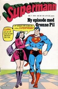 Cover Thumbnail for Supermann (Semic, 1977 series) #7/1978