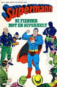 Cover Thumbnail for Supermann (Semic, 1977 series) #8/1978