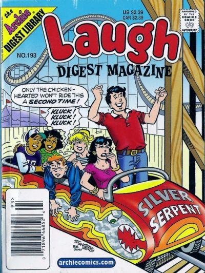Cover for Laugh Comics Digest (Archie, 1974 series) #193
