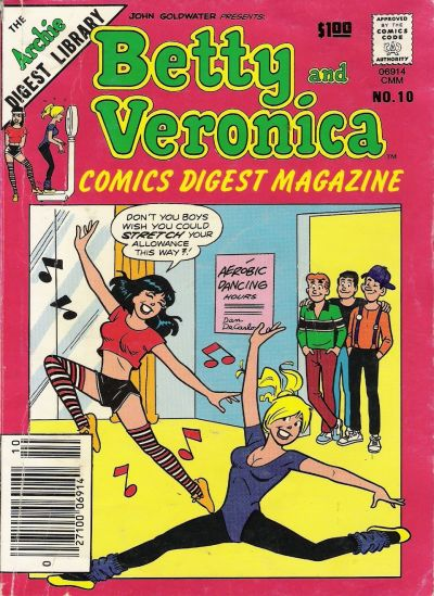 Cover for Betty and Veronica Comics Digest Magazine (Archie, 1983 series) #10
