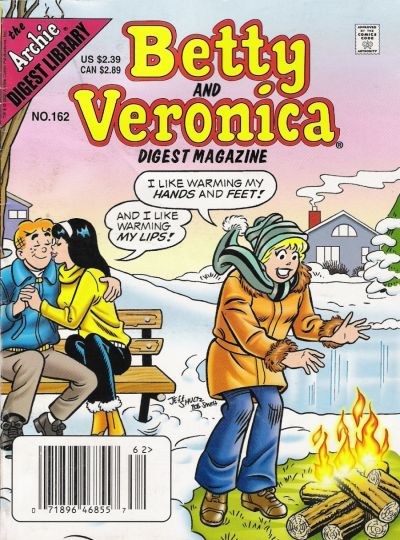 Cover for Betty and Veronica Comics Digest Magazine (Archie, 1983 series) #162