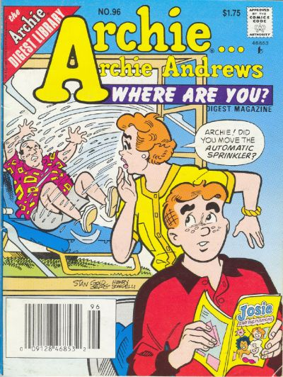 Cover for Archie... Archie Andrews Where Are You? Comics Digest Magazine (Archie, 1977 series) #96