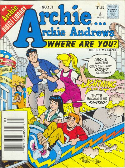 Cover for Archie... Archie Andrews Where Are You? Comics Digest Magazine (Archie, 1977 series) #101