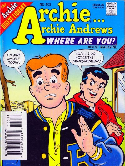 Cover for Archie... Archie Andrews Where Are You? Comics Digest Magazine (Archie, 1977 series) #103