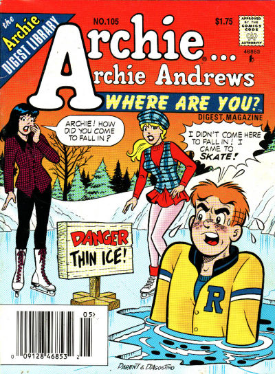 Cover for Archie... Archie Andrews Where Are You? Comics Digest Magazine (Archie, 1977 series) #105