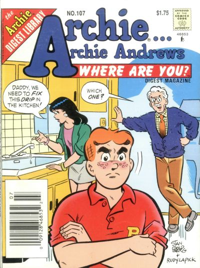 Cover for Archie... Archie Andrews Where Are You? Comics Digest Magazine (Archie, 1977 series) #107