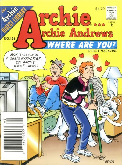 Cover for Archie... Archie Andrews Where Are You? Comics Digest Magazine (Archie, 1977 series) #108