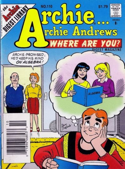 Cover for Archie... Archie Andrews Where Are You? Comics Digest Magazine (Archie, 1977 series) #110