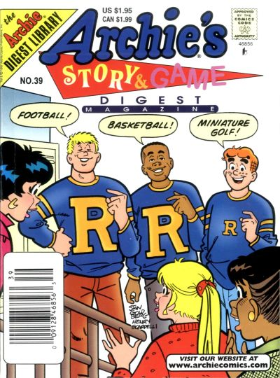 Cover for Archie's Story & Game Digest Magazine (Archie, 1986 series) #39