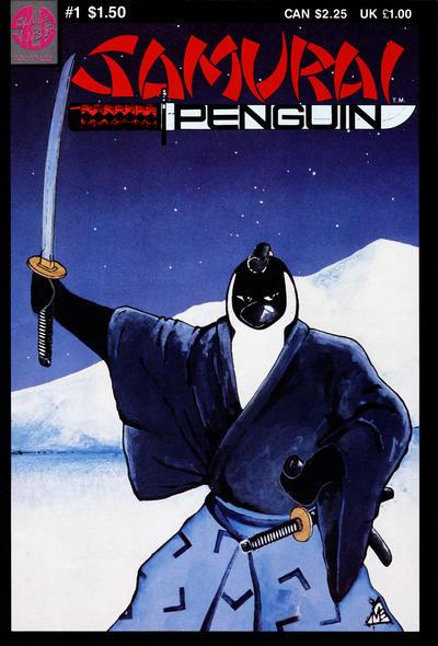 Cover for Samurai Penguin (Slave Labor, 1986 series) #1