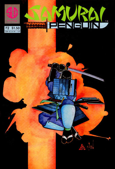 Cover for Samurai Penguin (Slave Labor, 1986 series) #2