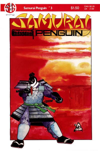 Cover for Samurai Penguin (Slave Labor, 1986 series) #3
