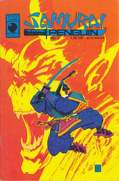 Cover for Samurai Penguin (Slave Labor, 1986 series) #6