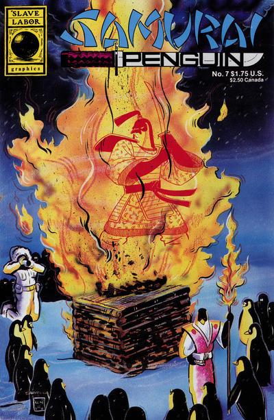 Cover for Samurai Penguin (Slave Labor, 1986 series) #7