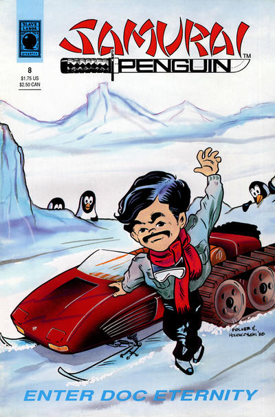 Cover for Samurai Penguin (Slave Labor, 1986 series) #8