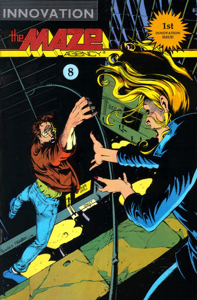 Cover for The Maze Agency (Innovation, 1989 series) #8