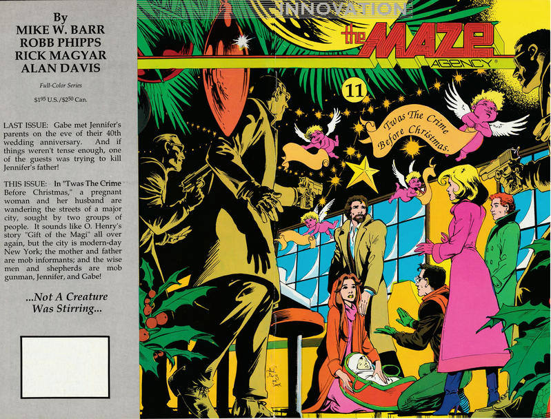 Cover for The Maze Agency (Innovation, 1989 series) #11