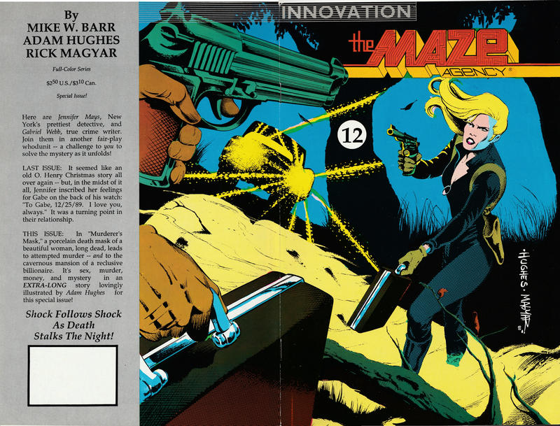 Cover for The Maze Agency (Innovation, 1989 series) #12