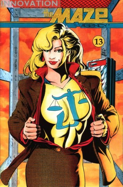 Cover for The Maze Agency (Innovation, 1989 series) #13