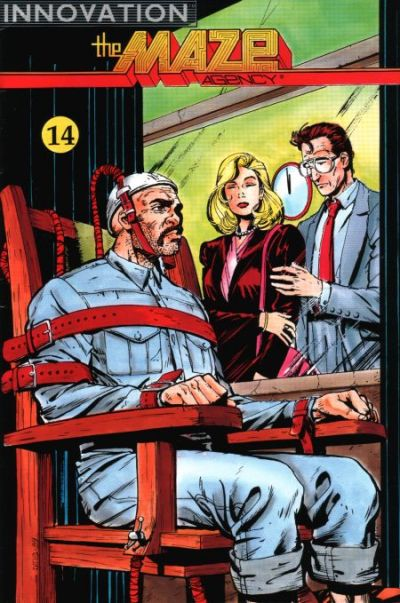 Cover for The Maze Agency (Innovation, 1989 series) #14