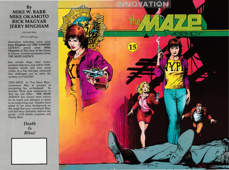 Cover for The Maze Agency (Innovation, 1989 series) #15