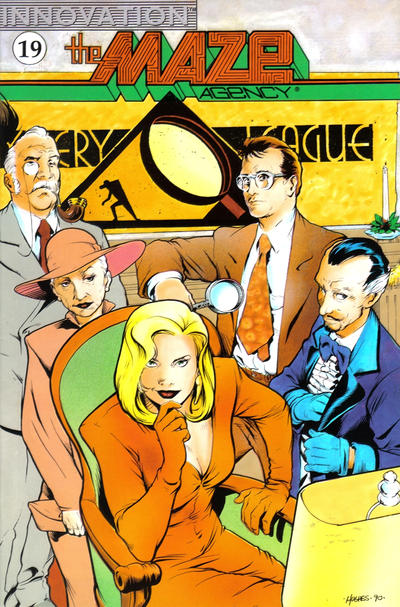 Cover for The Maze Agency (Innovation, 1989 series) #19