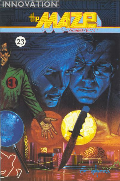 Cover for The Maze Agency (Innovation, 1989 series) #23