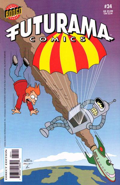 Cover for Bongo Comics Presents Futurama Comics (Bongo, 2000 series) #24