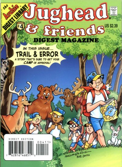 Cover for Jughead & Friends Digest Magazine (Archie, 2005 series) #4
