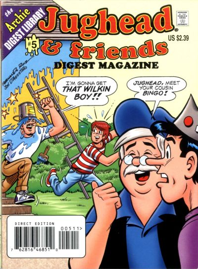 Cover for Jughead & Friends Digest Magazine (Archie, 2005 series) #5