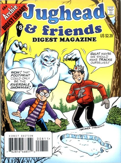 Cover for Jughead & Friends Digest Magazine (Archie, 2005 series) #8 [Direct]