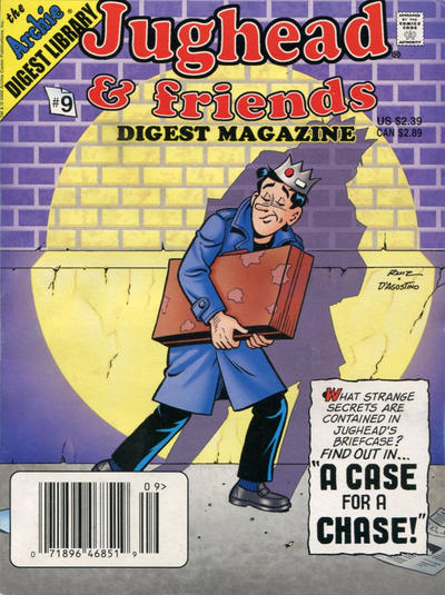 Cover for Jughead & Friends Digest Magazine (Archie, 2005 series) #9