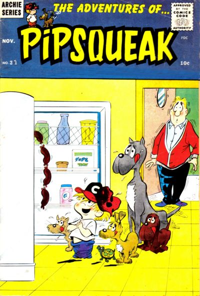 Cover for The Adventures of Pipsqueak (Archie, 1959 series) #37